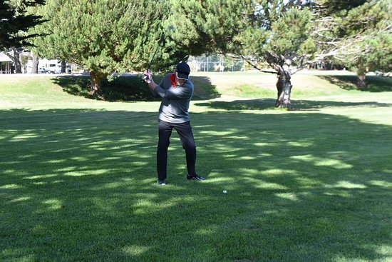 Pacific Grove Municipal Golf Course : The front nine holes offer luscious fairways bordered by cypress and eucalyptus trees.