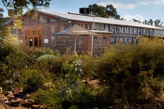 Moonambel, Australia: Summerfield Winery Cellar Door and Gardens