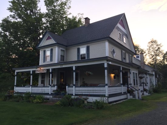Canaan, NH: A beautiful home with delightful touches.