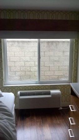 Hotel Indigo Anaheim: A solid view from my windows.