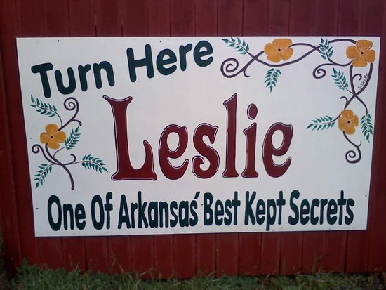 Historic downtown Leslie is a throwback town to an earlier time of Americana!