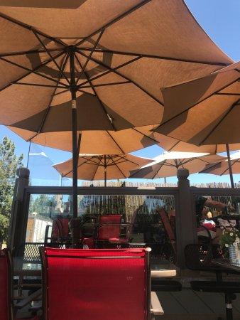 Freshies Restaurant & Bar : Rooftop dining