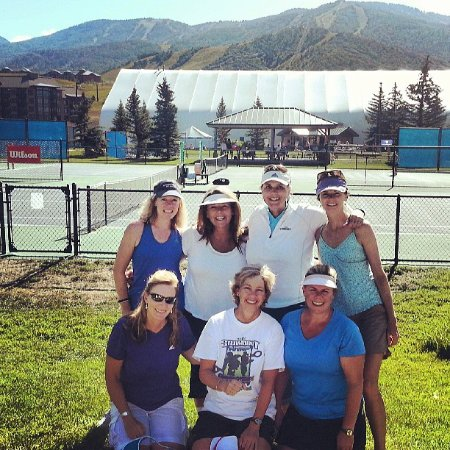 The Tennis Center at Steamboat Springs: Running into old friends and making new ones at the Steamboat NTRP Championships!