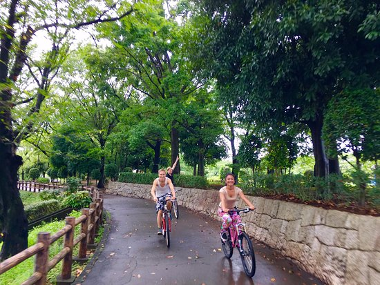Tokyo Fahrrad tour