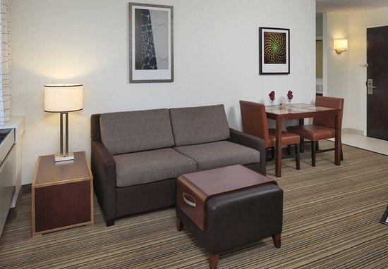 Edina, MN: One-Bedroom Suite - Living Area