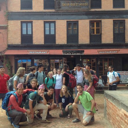 Shiva Guest House1 & 2: National Geographic expedition student group 2 July 2017