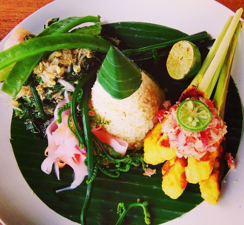 Traditional Balinese Food Sate Lilit Picture Of Sawah
