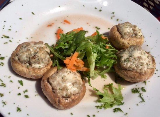Westport Winery: stuffed mushrooms