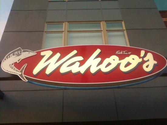 Wahoo's Fish Taco: Corner of I-25 and Hampden