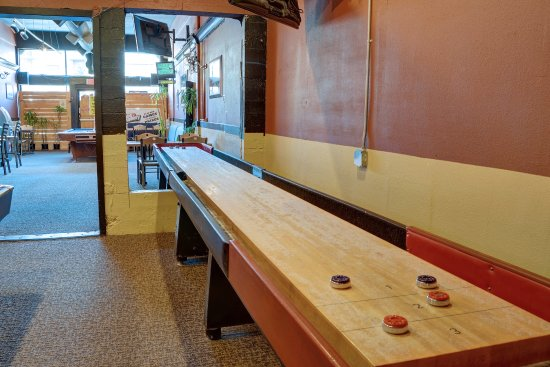 Good The Broadway Grill U0026 Brewery: We Also Have One Full Size Shuffleboard Table,  Itu0027s