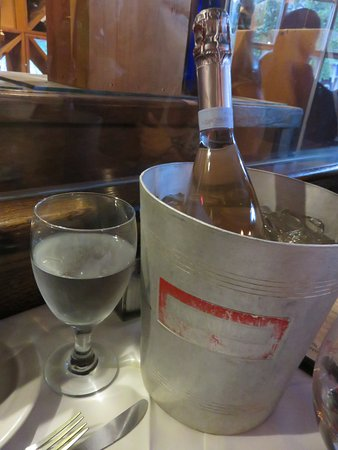 Rutherford, NJ: Bring your own wine, and request an ice bucket