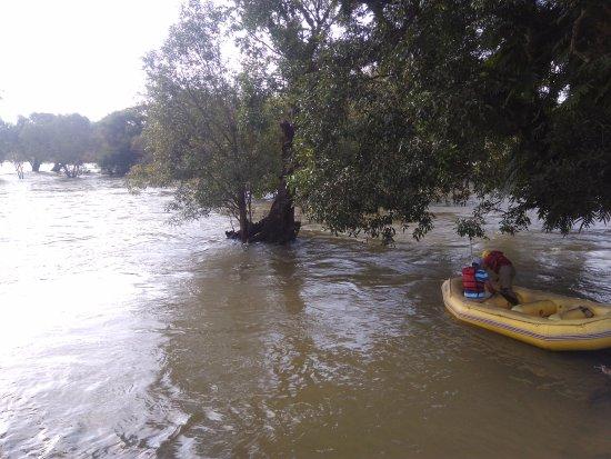 Dubare Inn Resort : Opposite to the room , the rafting starts here