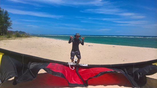 Seabreeze Kite Club: Every year, Terrence is our returning visitor.