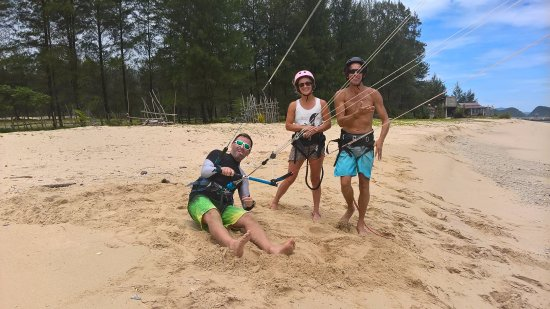 First customers in May at Seabreeze Kite Club.