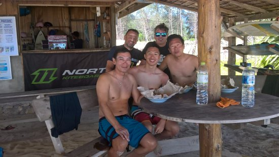 Seabreeze Kite Club: Our beach bar direct on the spot will have the VIP feeling.