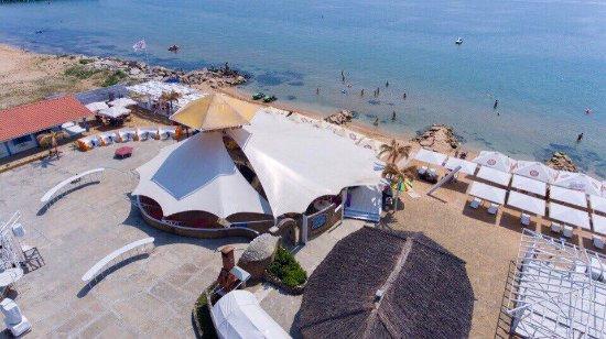 Feodosia: Фото с дрона, так сейчас выглядит Beach Club 117 с высоты птичьего полета