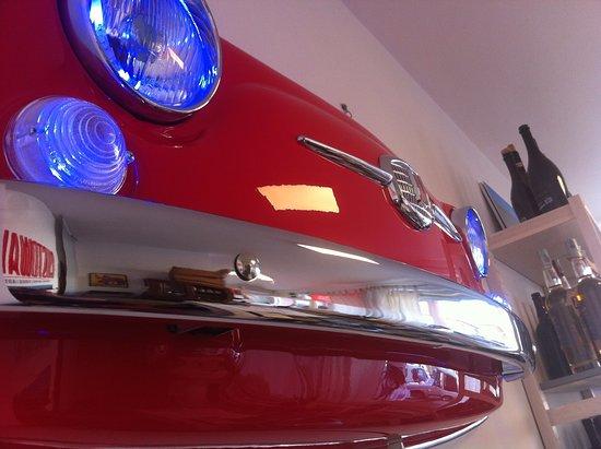 Gustowawe: Gustowave - Frontale Fiat 500 artigianato