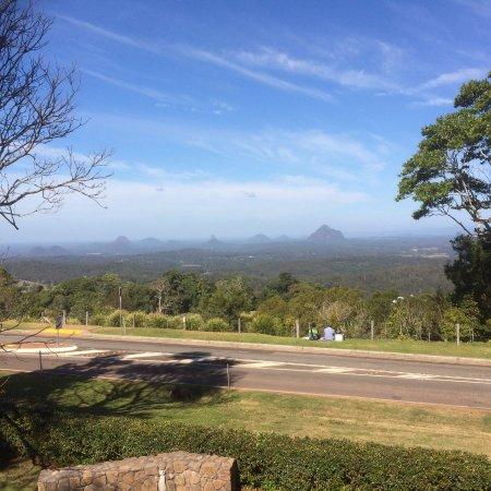 Maleny, Australien: View Towards The Glasshouse Mountains