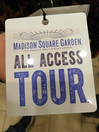 Madison Square Garden All Access Tour New York City Anmeldelser