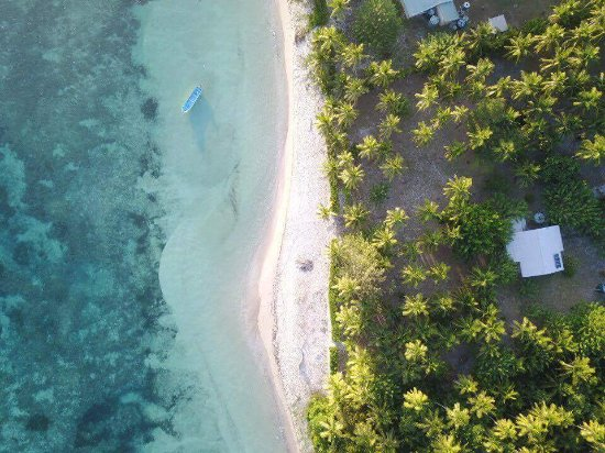 Tavewa Island, Φίτζι: Stunning views from above