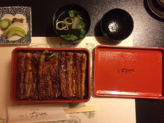 Ichinoya: (大)うな重 蒲焼3枚 5,400円(税抜)