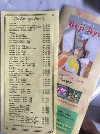 Beji Ayu Spa: photo0.jpg