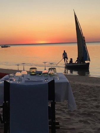 Benguerra Island, Mozambik: sunset cruise