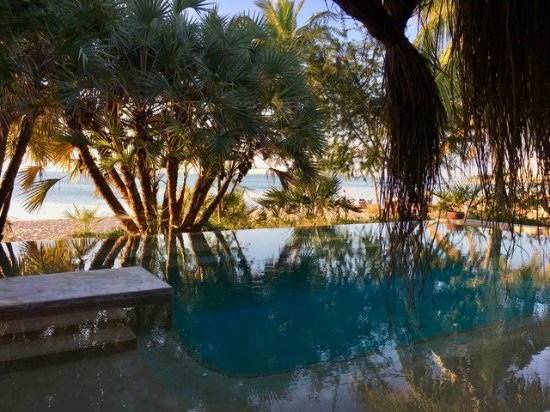 Benguerra Island, Mozambique: Swimming pool