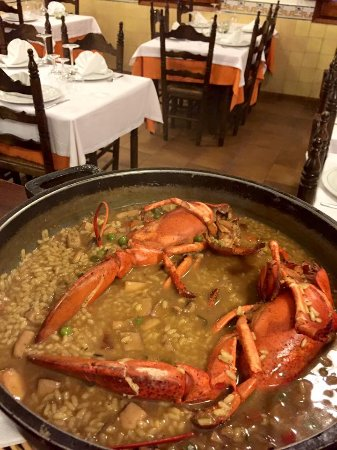 Restaurant Santa Marta: Lobster rice