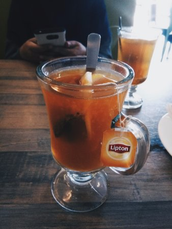 Image result for hot tea with honey