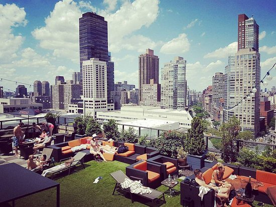 Empire Hotel: rooftop