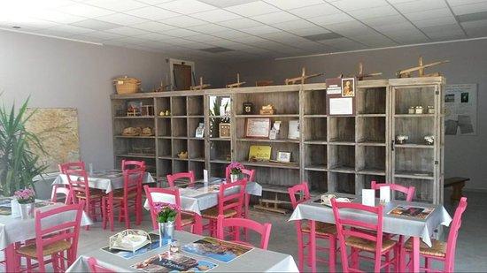 Rivarennes, France : La salle de dégustation