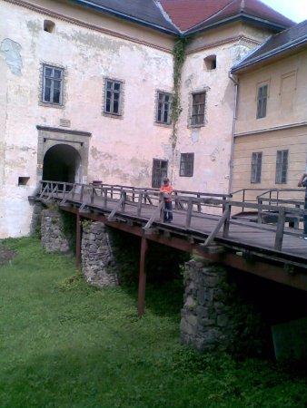 Uzhhorod Castle: вход в замок
