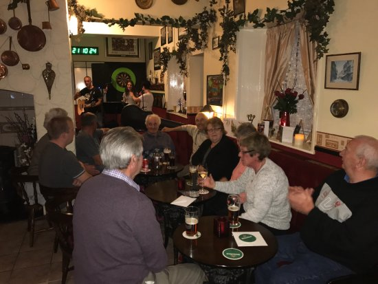 Montgomery, UK: Asked if I could use the landlords photos , wonderful night, for some unknown reason the pub and
