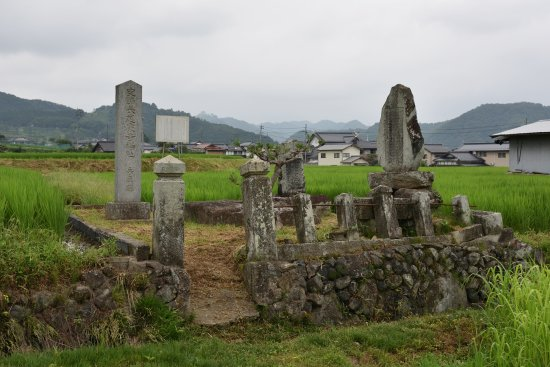 Site of Nagao Temple Ruins