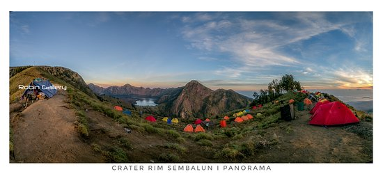 Dhyns Rinjani Hiking