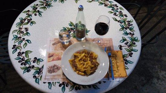 Deruta, Italy: cena molto gustosa