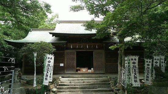 Morozaki Hazu Cape (Hazu Jinja Shrine) Photo