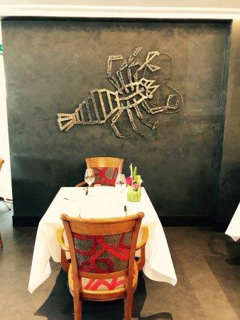 Plancoet, Fransa: nouvelle déco : le homard