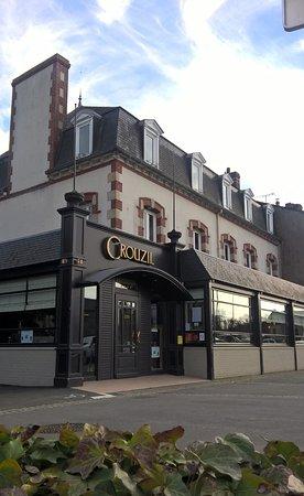 Plancoet, France: Maison Crouzil vue de l'extérieur