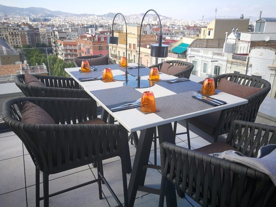 Crowne Plaza Barcelona - Fira Center: 173RoofTop Terrace