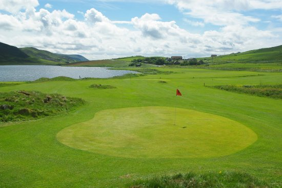 Scalloway, UK: Asta Golf Course