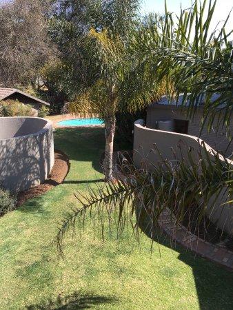 Benoni, South Africa: Backyard Pool Area