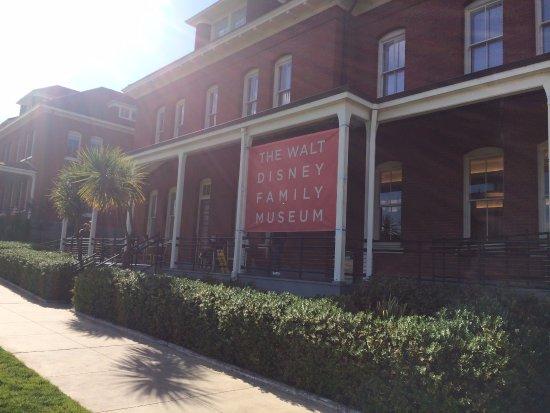 Walt Disney Family Museum : Museum!