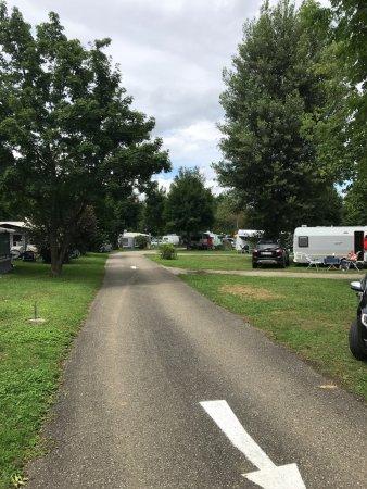 Reinach, Schweiz: Campingplatz Waldhort