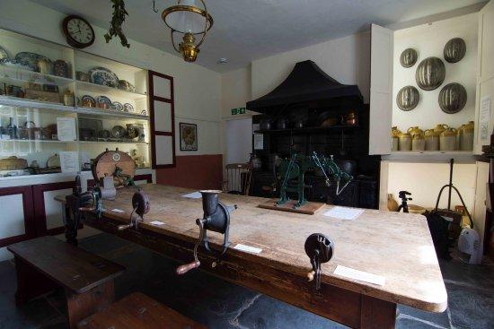 Kingsbridge, UK: Victorian Kitchen