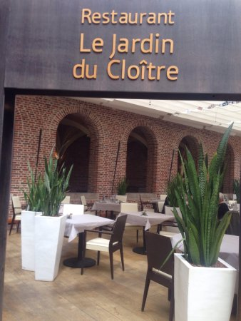 Restaurant le jardin du cloitre dans lille avec cuisine for Le jardin d alix lille