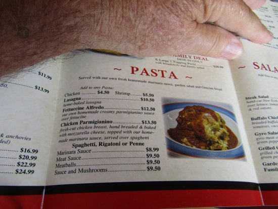 tom s pizza and restaurant prices