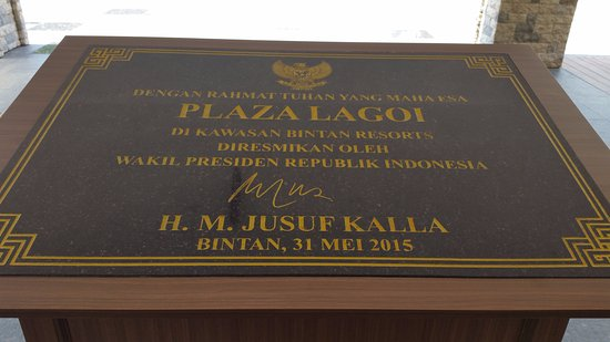 Plaza Lagoi: Officially opened in May 2015
