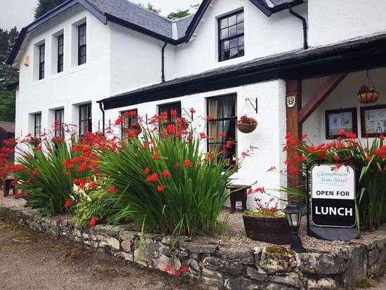 Glenmoriston Arms Hotel: Garden